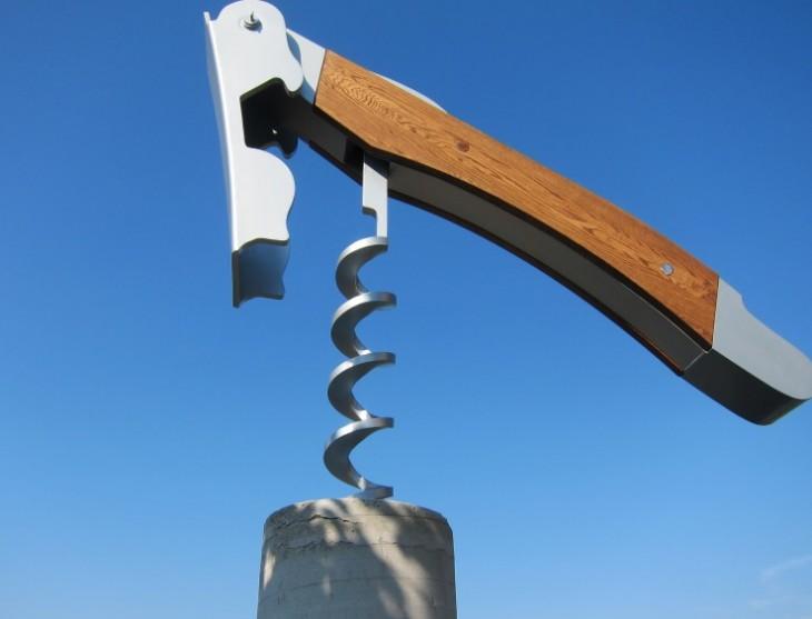 Corkscrew from Below