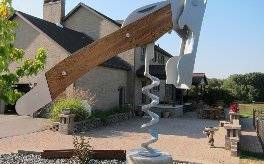 Winery with Corkscrew
