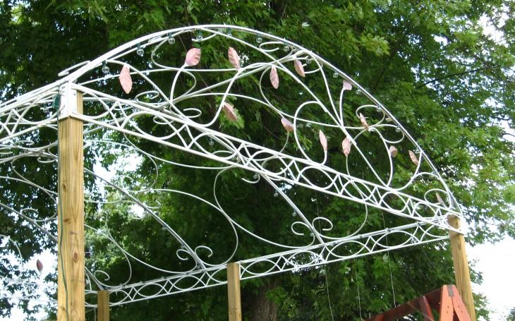 Pink Flower Pergola